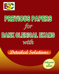 Previous Papers for Bank Clerk (ENG) Exam