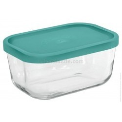 Igloo Rectangular Bowl 400ml In Blue Lid