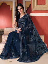 Ladies Black Sarees