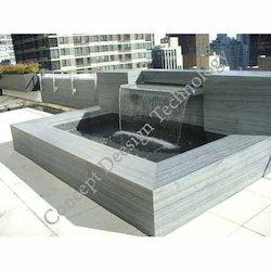 Water Sheet Fall Fountain