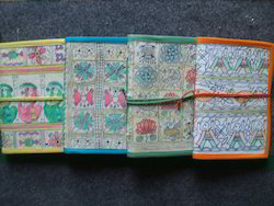 Madhubani Print Handmade Paper Notebook