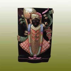 Black Shreenath ji Statue
