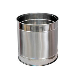 Stainless Steel Planter Bin