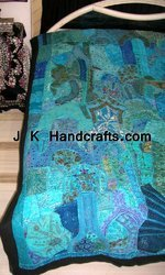 Embroidered Completely Thread-work Bed Sheet