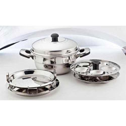 Stainless Steel Idli Maker