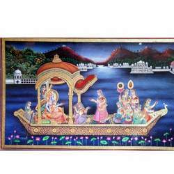 Radha Krishna Stylish Painting