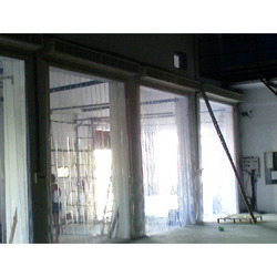 transparent pvc strip curtains