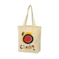 Colour Printed Cotton Bags