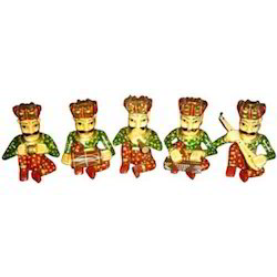 Painted Musicians Set of 5
