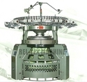 single double electronic jacquard circular knitting machine