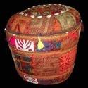 Jaipuri Hand Made Cotton Pouf