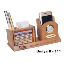Desktop Organizer With Calendar