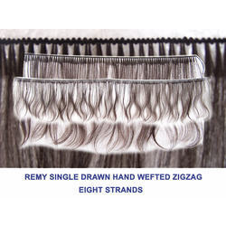 Remy Single Drawn Machine Weft Human Hair