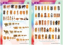 Wooden Indian Idols & Decorative Items