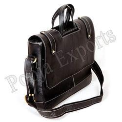 Leather Laptop Bag ( Product Code: YH64)