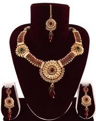 Bollywood Gold Plated Necklace Set