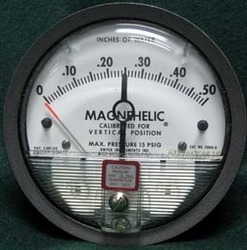 Calibration Of Magnehelic Gauge