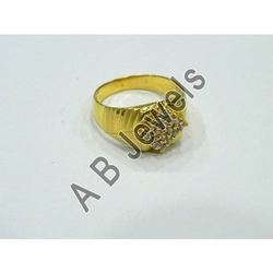 Gents Fancy Gold Ring