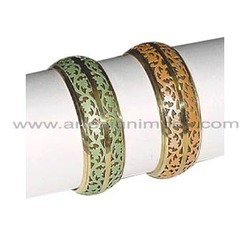 Brass Perforated Bangles