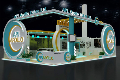Exhibition Stall Makers : Exhibition stall d designing services exhibition stand service