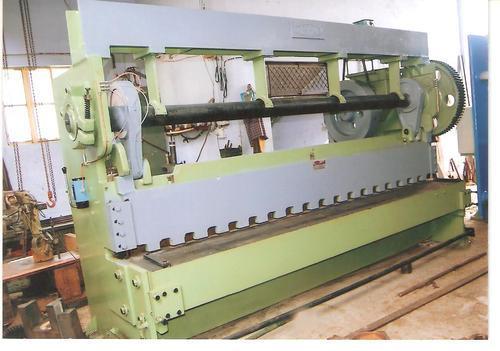 Over Crank Mechanical Shearing Machine