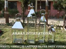 Nickel Shiny Ss Lanterns