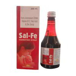 Ferric Ammonium Citrate Vitamin B12, Folic Acid & Zinc Syrup