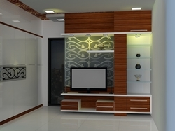 Three Dimensional Designing Services - Bunglow Living Room Design