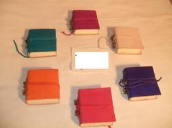 Plain Leather Journals With Bells