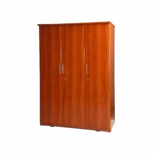 Triple Door Wooden Almirah