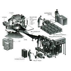 Flyash Brick Making Plant