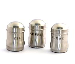 Tea, Coffee and Sugar Canister