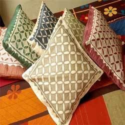Cut Work Cushion Covers