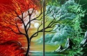 landscape oil art oil painting