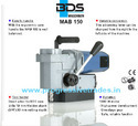 BDS MAB 150 - Magnetic Core Drilling Machine