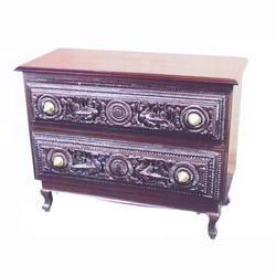 Intricately Carved Chest