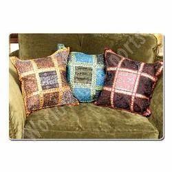 Cushion Covers - Dabka Cushion Covers, Sofa Cushion Covers, Patch ...
