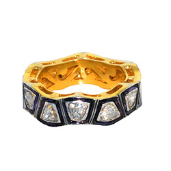 Diamond Studded Ring Jewelry