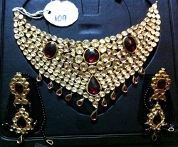 Kundan Polki Jhallar Necklace 209