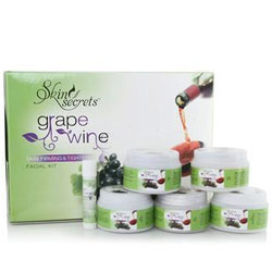 Grape Wine Facial Kit