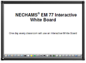 Nechams EM 77 Interactive White Board