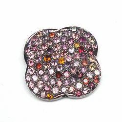Tourmaline Pave Beads