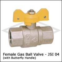 Female Gas Ball Valves