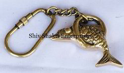 Nautical Brass Fish