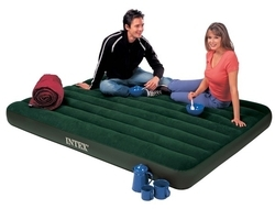 intex air bed inbuilt foot pump
