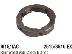 I015/TAC Rear Wheel Axle Check Nut
