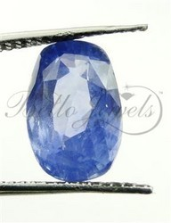 4.86 Ct Oval Cut Blue Sapphire Loose Gemstone