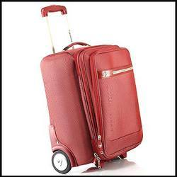 Leather Trolley Travel Bags