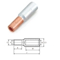 Aluminium - Copper BI - Metal Connector / Spice