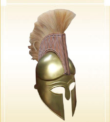 Armour Helmet Sparton Brass Finish